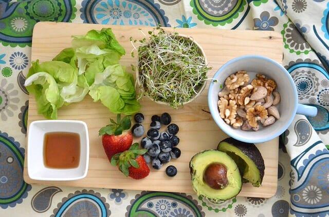 おいしそうな果物と野菜の画像