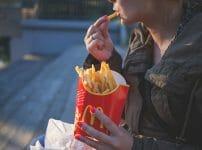 マクドナルドポテト画像トランス脂肪酸の含有量